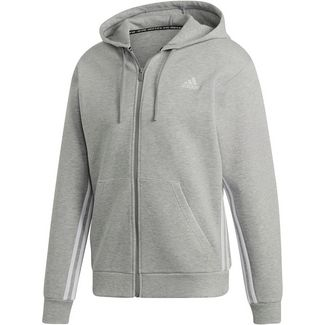 adidas Trainingsjacke Herren medium grey heather