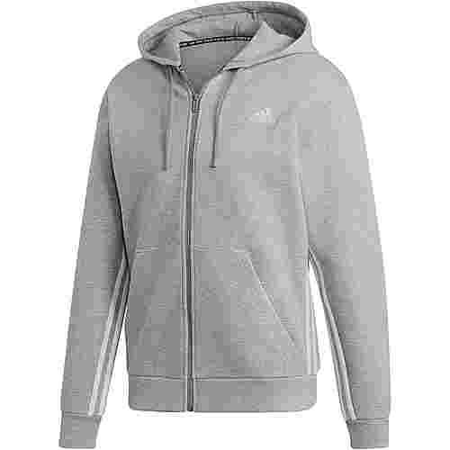 adidas Sweatjacke Herren medium grey heather