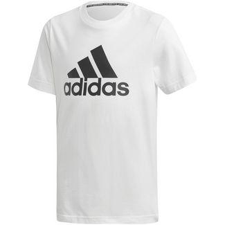 adidas YB MH BOS T T-Shirt Kinder white