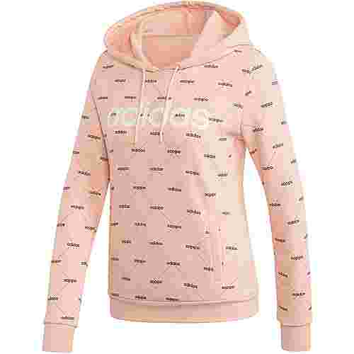 adidas Core Fav Hoodie Damen glow pink