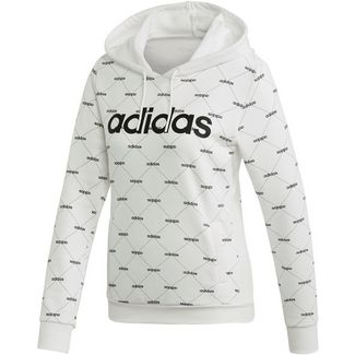 adidas Core Fav Hoodie Damen white-black