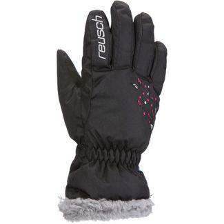 Reusch Marlena Skihandschuhe Kinder black-pink-glo