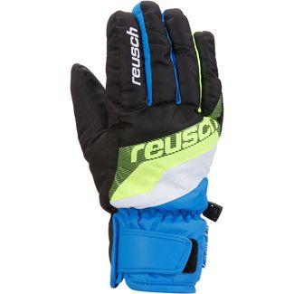 Reusch Dario Skihandschuhe Kinder black-brilliant-blue