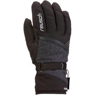 Reusch Alexa GTX Skihandschuhe Damen black-black melange-silver