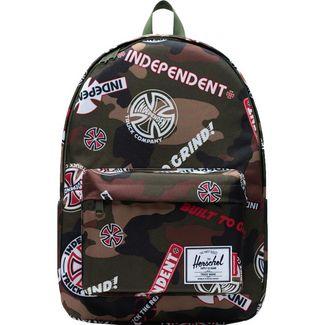 Herschel Classic XL Independent Daypack dunkelgrün / hellbraun