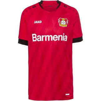 JAKO Bayer 04 Leverkusen 19/20 Heim Fußballtrikot Herren rot