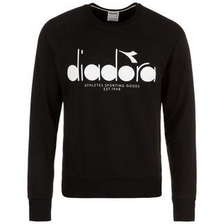 Diadora 5 Palle Crew Sweatshirt Herren schwarz / weiß