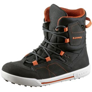 Lowa GTX® Winterschuhe Kinder anthrazit-orange