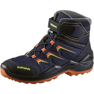 Lowa GTX® Maddox Stiefel Kinder navy-orange
