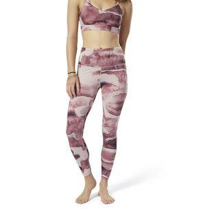 Reebok Yoga Lux Bold High-Rise Tight Tights Damen Shell Pink