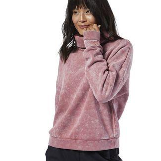 Reebok Studio Oversize Cover-Up Funktionssweatshirt Damen Rose Dust