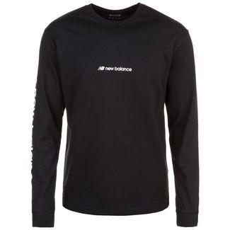 NEW BALANCE Sport Style Optiks Sleeve HIT T-Shirt Herren schwarz / weiß