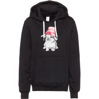 iriedaily It Hasi Hoodie Damen black
