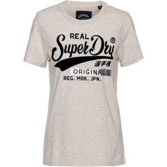 Superdry T-Shirt Damen oatmeal marl