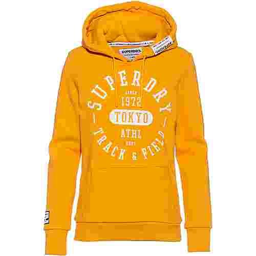 Superdry Hoodie Damen rio yellow