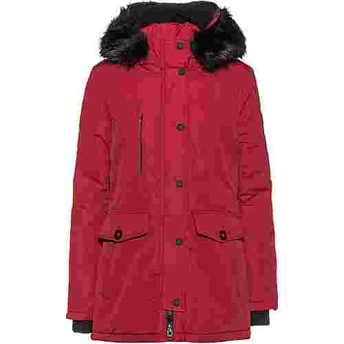 Superdry Ashley Everest Parka Damen brick red