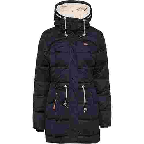 Ragwear Ashani Puffy A Steppmantel Damen navy