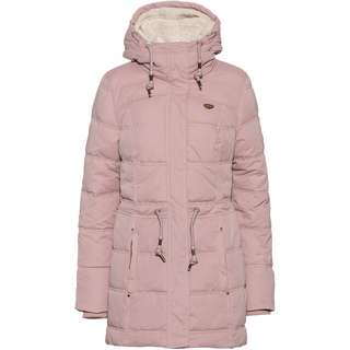 Ragwear Ashani Puffy A Steppmantel Damen old pink