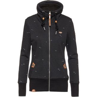 Ragwear Rylie Zip Sweatjacke Damen black
