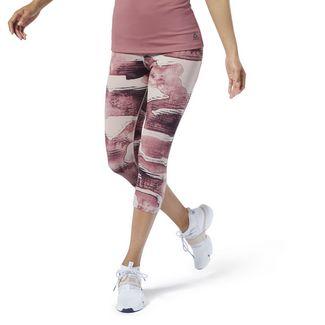 Reebok Yoga Lux Bold 3/4 Tight 2.0 Tights Damen Shell Pink