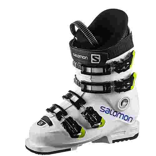Salomon S/Max 60T L Skischuhe Kinder white-raceblue-acid