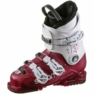 Salomon T3 RT Skischuhe Kinder girly pink-white