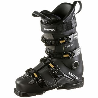 Salomon S/MAX 110 W Skischuhe Damen black-goldglow