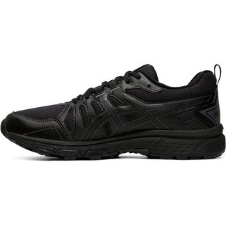 ASICS GEL-VENTURE 7 WP Laufschuhe Damen black-carrier grey