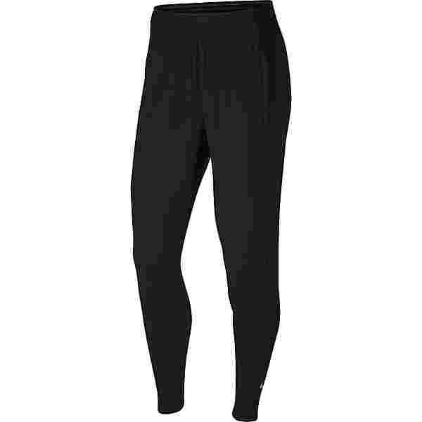 Nike Essential Laufhose Damen black-reflective silver