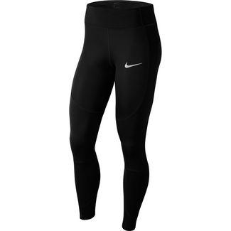 Nike Epic Lux Lauftights Damen black-reflective silver