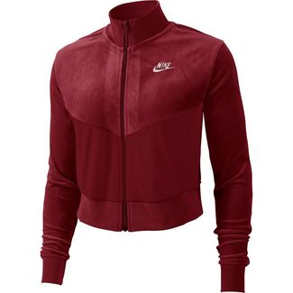 Nike NSW Sweatjacke Damen team red-desert sand-pale ivory