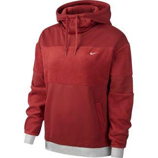 Nike Icon Clash Sweatshirt Damen cedar-metallic gold