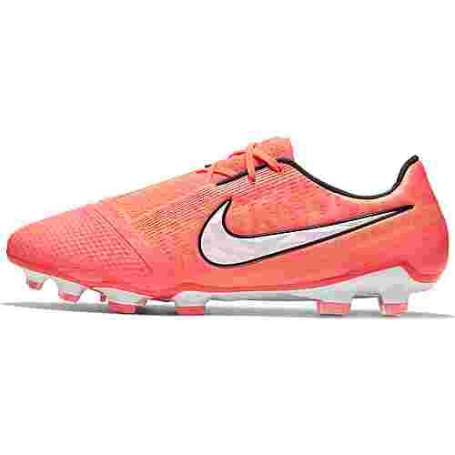 Nike PHANTOM VENOM ELITE FG Fußballschuhe Herren bright mango-white-orange pulse