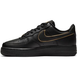 Nike Air Force 1 ´07 Sneaker Damen black-black metallic gold-black