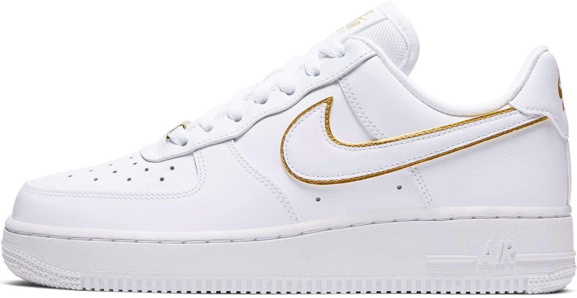 Nike Air Force 1 ´07 Sneaker Damen white-white metallic gold-white im  Online Shop von SportScheck kaufen