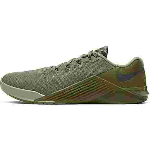 Nike Metcon 5 Fitnessschuhe Herren jade stone-dark grey-medium olive