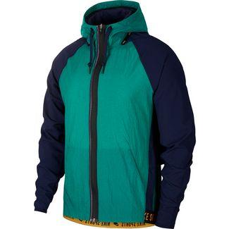 Nike Flex Windbreaker Herren mystic green-blackened blue-kumquat