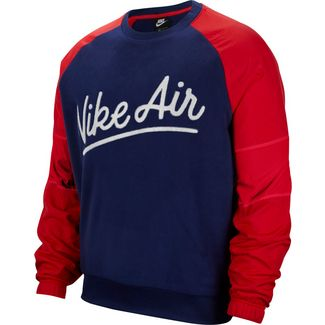 Nike NSW Air Sweatshirt Herren blue void-university red-white-blue void