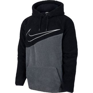 Nike NSW Swoosh Hoodie Herren black-anthracite-white