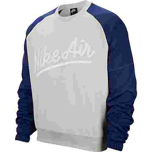 Nike NSW Air Sweatshirt Herren light bone-blue void-white-light bone
