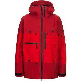 Peak Performance Vertical Hardshelljacke Herren dark chilli