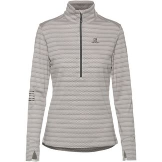Salomon LIGHTNING Fleeceshirt Damen lunar rock-alloy