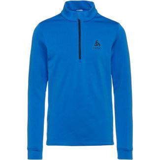 Odlo Layerlangarmshirt Kinder directoire-blue