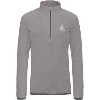 Odlo Layerlangarmshirt Kinder platinum-grey-odlo-steel-grey