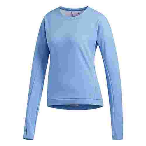 adidas Supernova Run Cru Sweatshirt Sweatshirt Damen Real Blue / Heather
