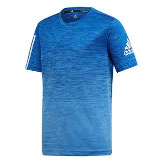 adidas T-Shirt Kinder Real Blue / Collegiate Royal / White