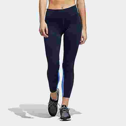 adidas How We Do Light 7/8-Tight Tights Damen Legend Ink / Real Blue