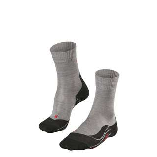 Falke TK5 Wandersocken Damen light grey (3403)