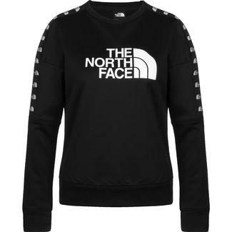 The North Face Train N Logo Sweatshirt Damen schwarz / weiß
