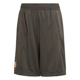 adidas Training Equipment Shorts Funktionsshorts Kinder Tech Olive / Flash Orange
